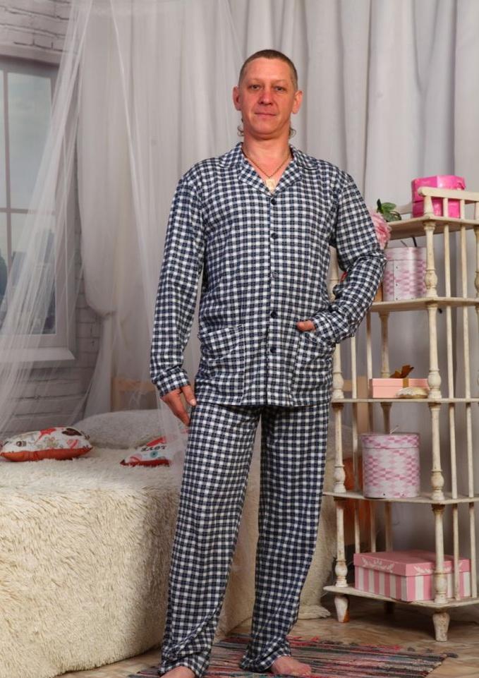 Трикотажные мужские пижамы