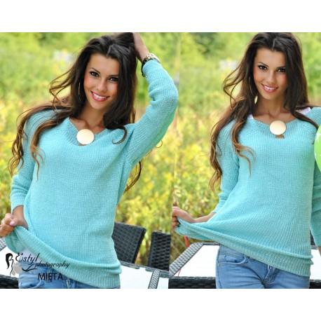 Чудесная туника свитер-блестящие нити