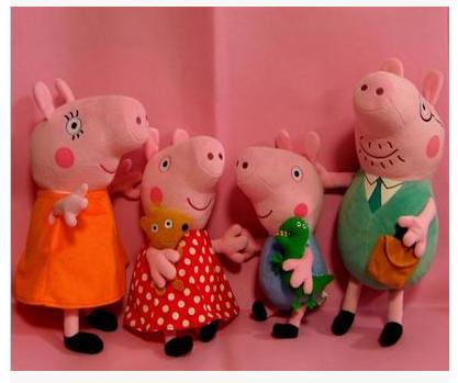 Рюкзак мягкий Свинка Пеппа Мягкие игрушки, Игрушки