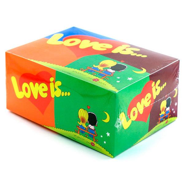 """Блок жвачек Love is — """"Mix"""" (20 шт.)"""
