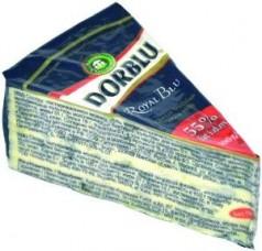 Сыр с голубой плесенью, Dor Blu Royal Blu, 100г.
