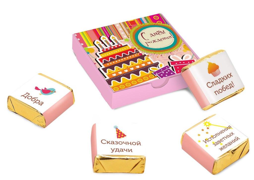 Поздравления к шоколадке на день рождения