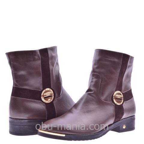 Ботинки La Rose 464 коричневая кожа