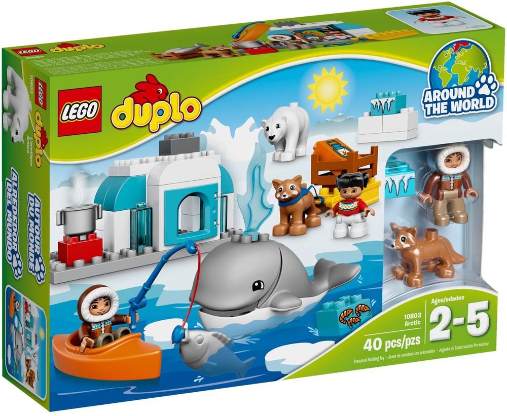 лего lego 10803 ARCTIC  (ВОКРУГ СВЕТА: АРКТИКА)