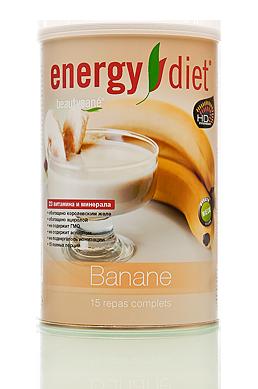 Коктейль Банан  Energy Diet