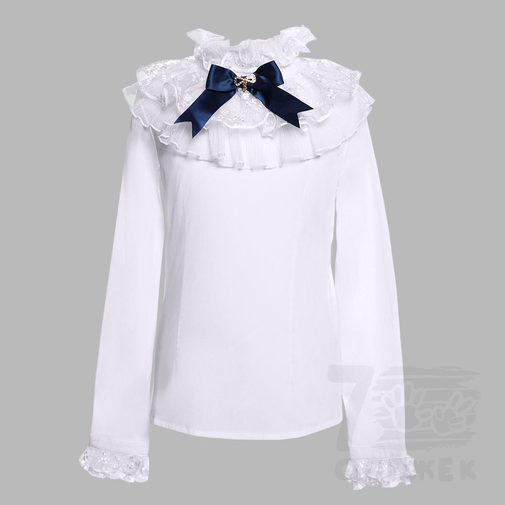Блузка для девочки рукав длинный