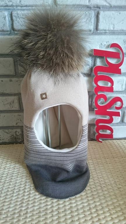 НОВИНКА! Шлем зимний, утепленный.