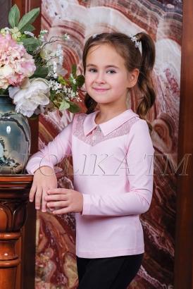 Трикотажная блузка Н*адя розовая