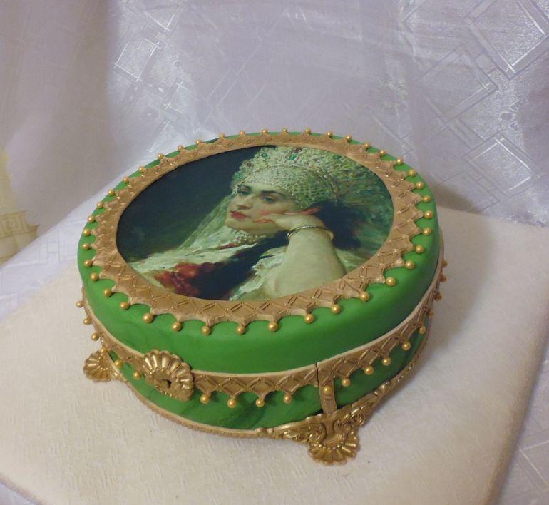 день, торт малахитовая шкатулка рецепт с фото пасте