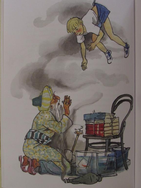Иллюстрации к старику хоттабычу