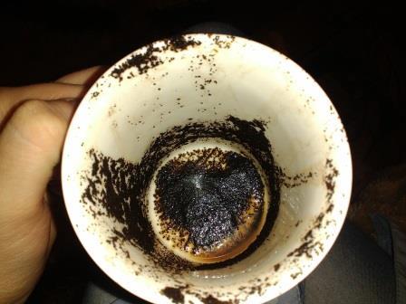 гадание на кофейной гуще нос:
