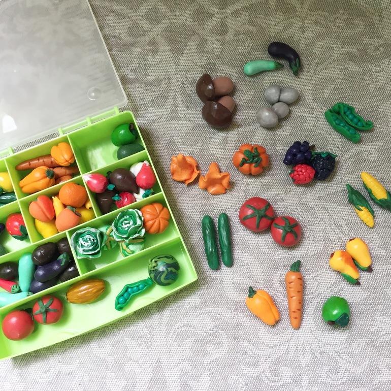 Полимерная глина своими руками овощи