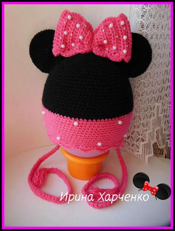 Моя вторая шапка Микки Маус