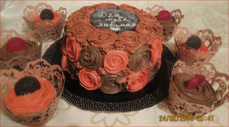 Шифоновый шоколадный бисквит рецепт