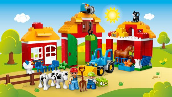 Лего Ферма Собрать Трактор Инструкция