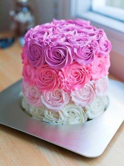Украшения на торт из крема: лучшие варианты