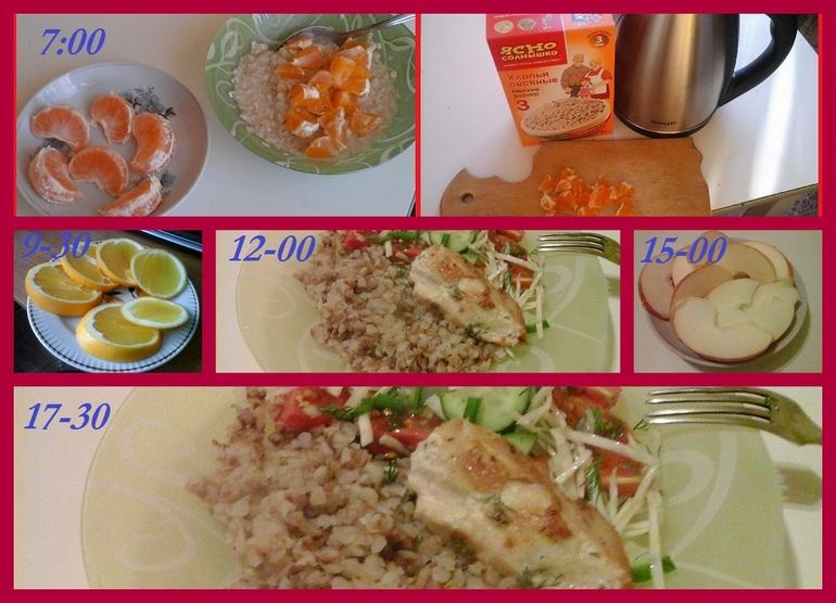 Второй день на японской диете