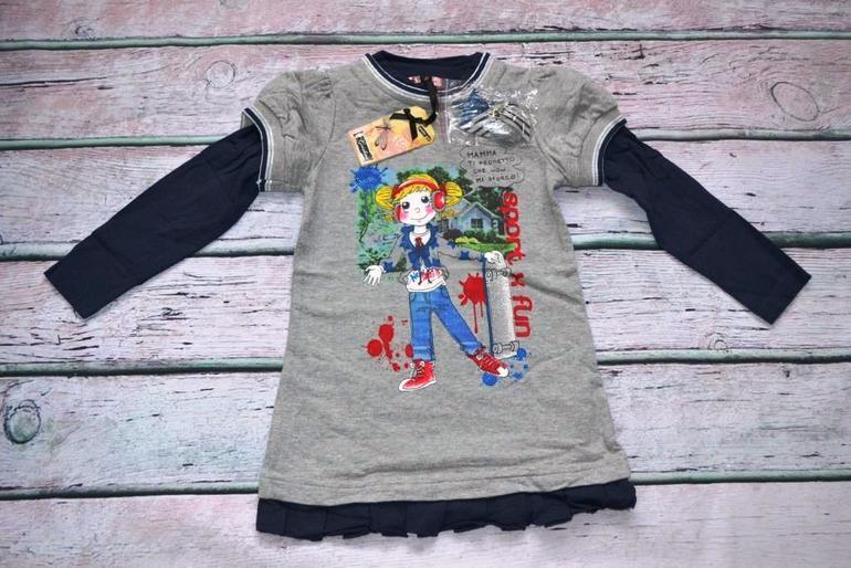 e9c354a61d9 Детская одежда Gaialuna из Италии. Для девочек от 9 мес. до 16 лет. Все в  наличии! 1) Платье. Размеры  TG.26 (106 см). Цена  1450 руб.