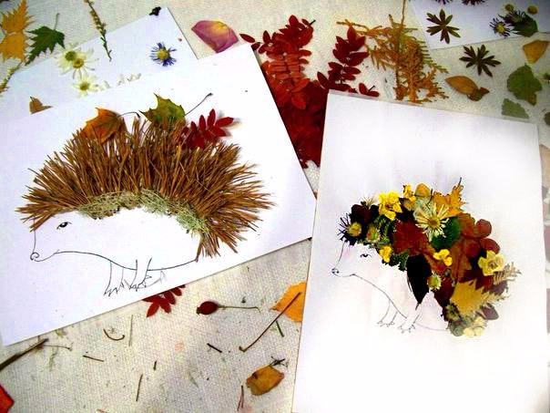Гербарий своими руками Осенний листопад. Мастер-класс с 15