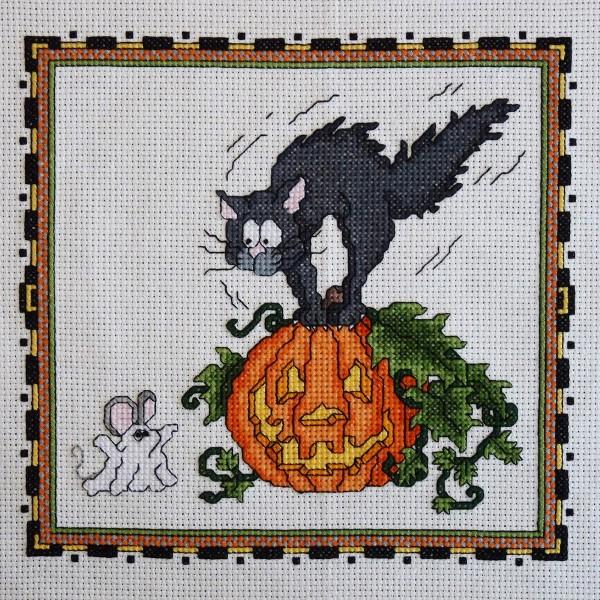 Halloween вышивки крестом