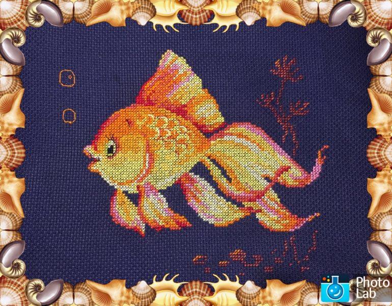 Золотая рыбка вышивка набор