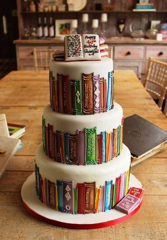 Открытки ко дню рождения книги