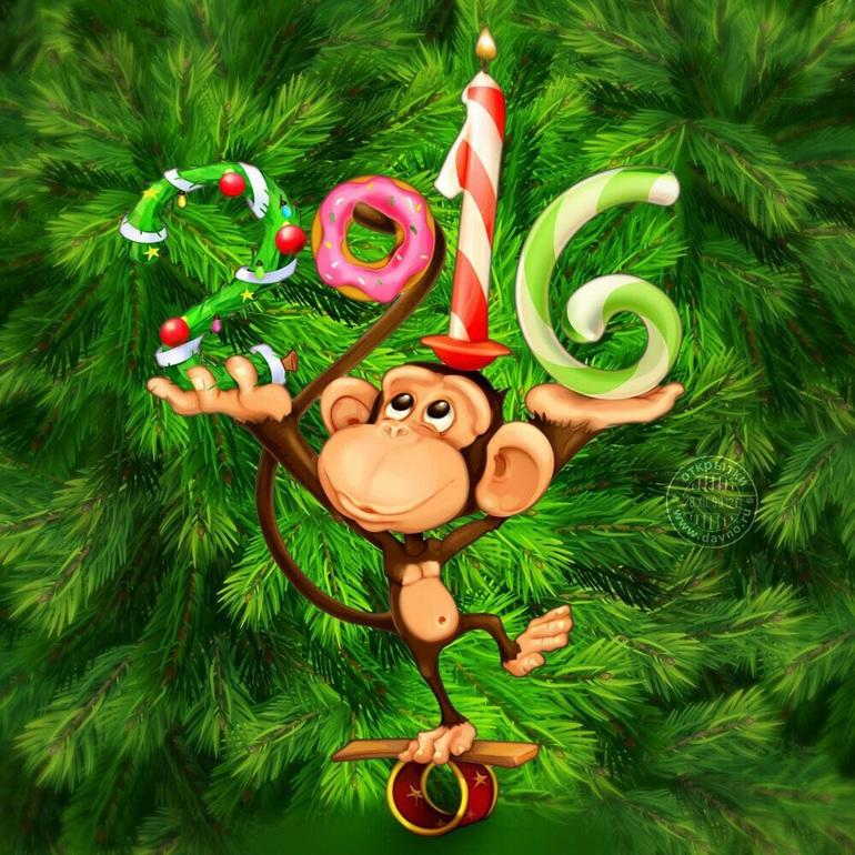 красивые открытки с обезьянами можете забрать ваш