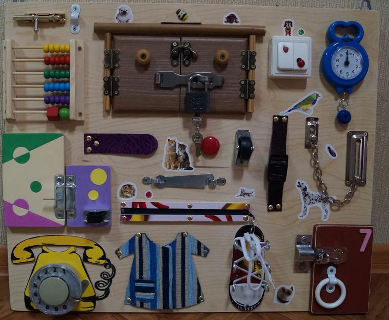 Игрушки своими руками на доске